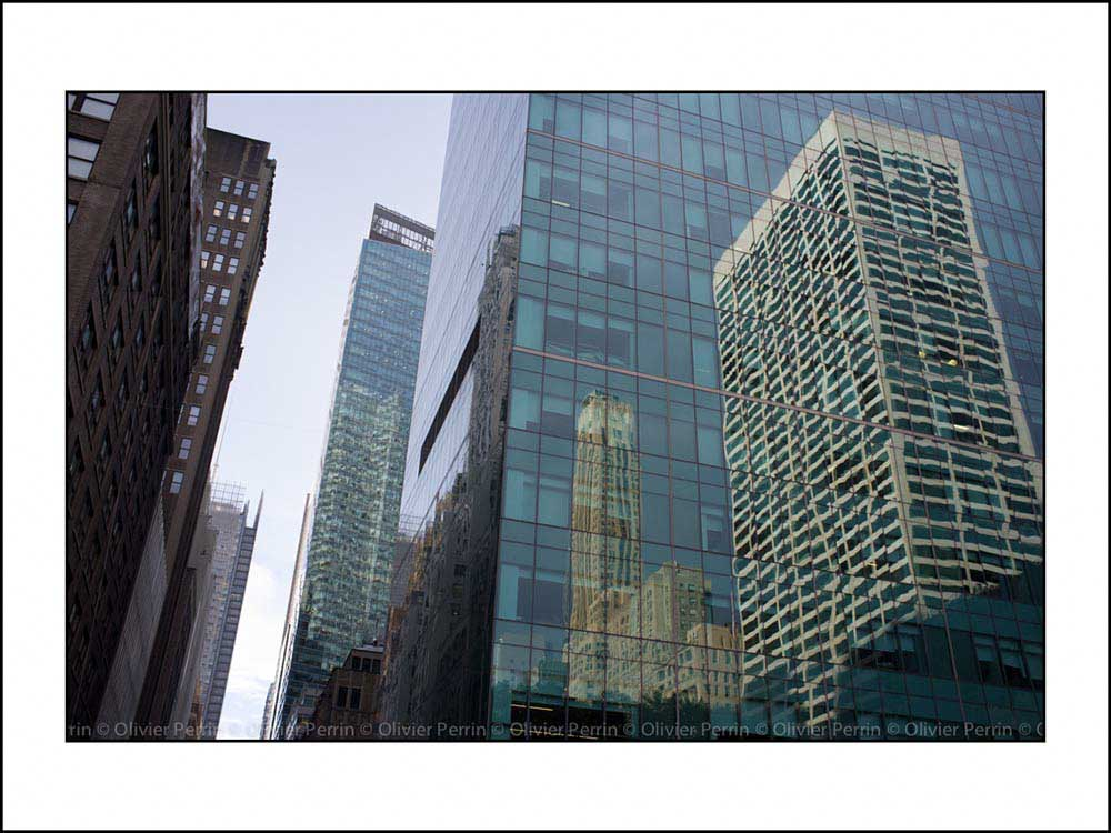 New York. 5ème Avenue.