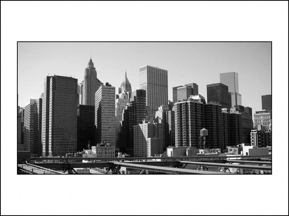 New York. Manhattan.