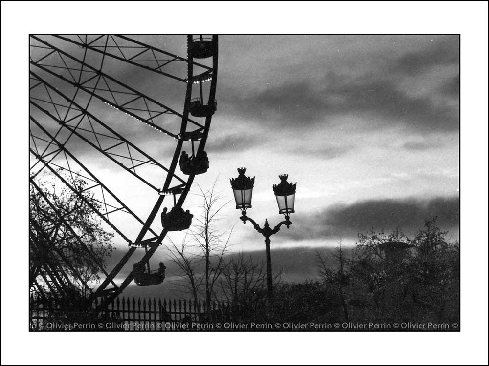 Grande Roue des Tuileries. Paris. France.