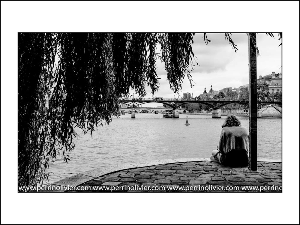 Pont des Arts. 2019. Paris. France.